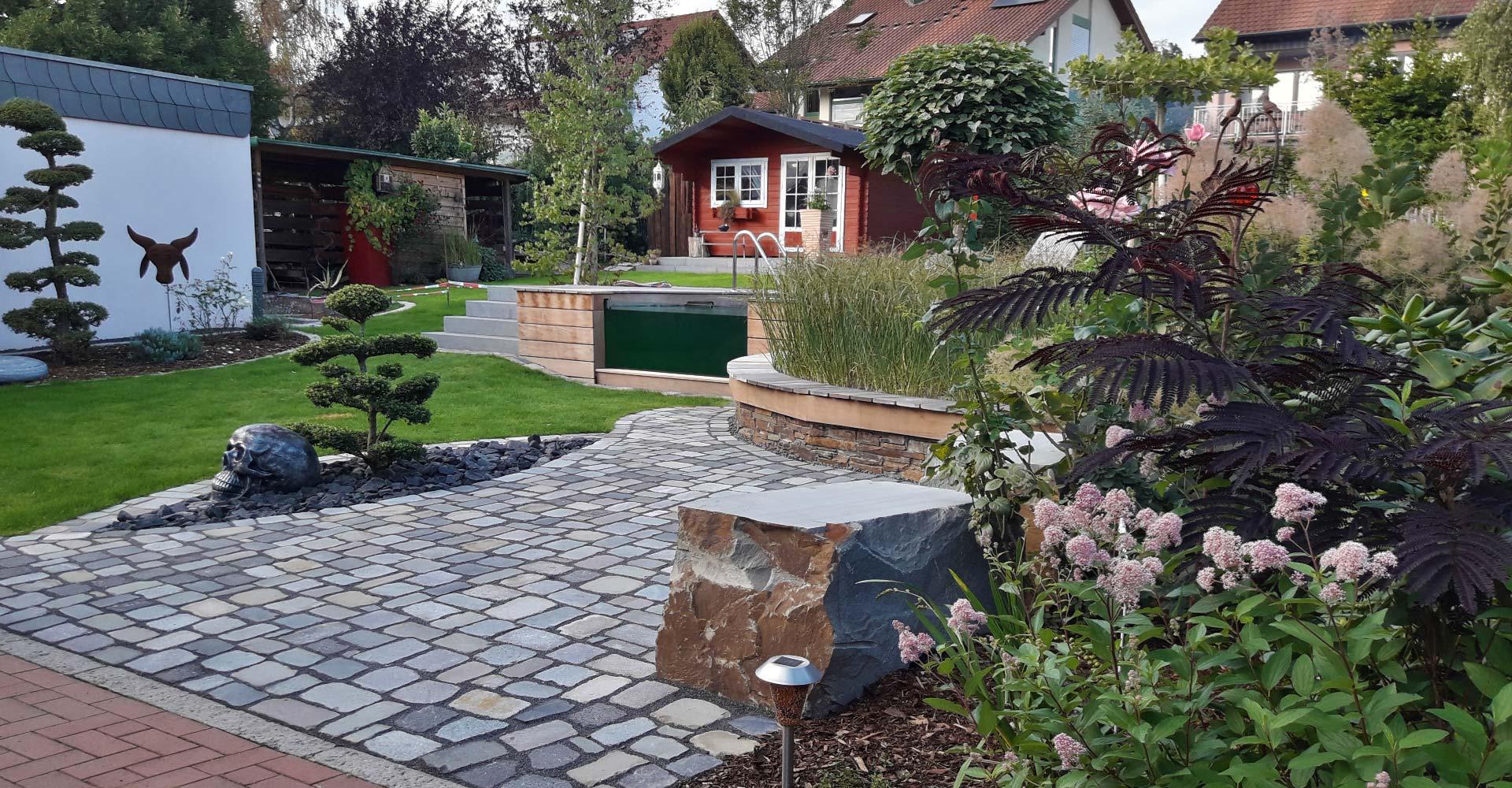 Gartengestaltung Pflastersteine